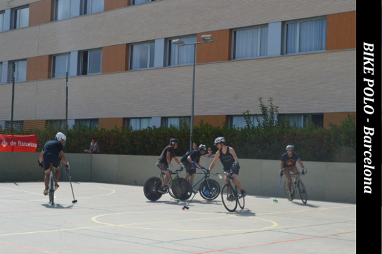 Bike polo, a new sport in our city's streets