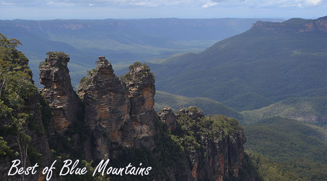 Hiking and climbing in the Blue Mountains