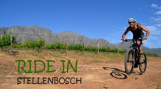 Mountain Bike in Stellenbosch