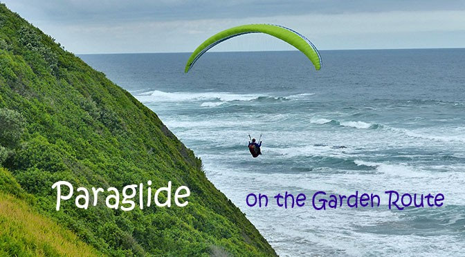 Paragliding on the Garden Route