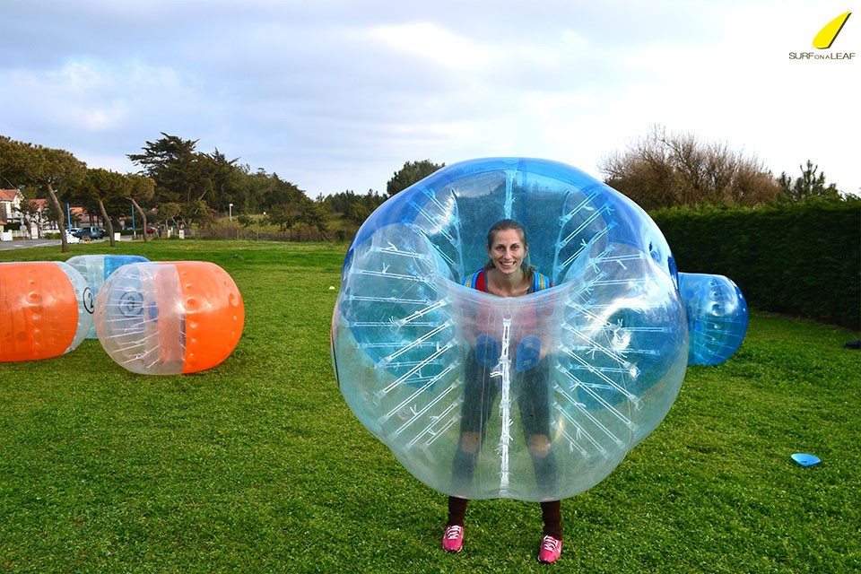 surf-on-a-leaf-bubble-soccer