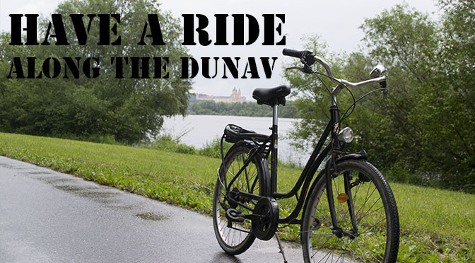 Cycling along the Danube river